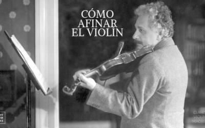 ¿Cómo afinar un violín?